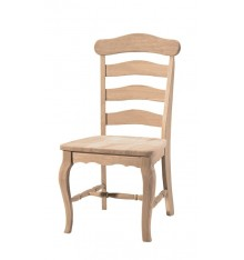 Country French Ladderback Chairs