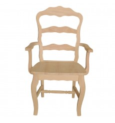 Versaille Side Chair (wood seat, unfinished)