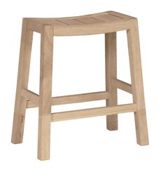 Ranch Counter Stool (unfinished)