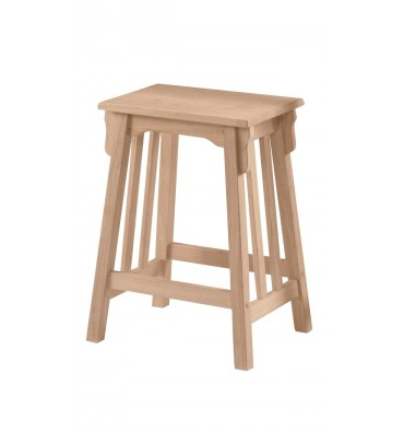 [24 Inch] Mission Stool