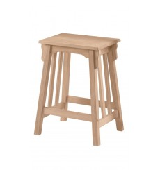 Mission Counter Stool (unfinished)