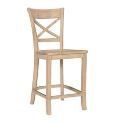 Charlotte Counter Stool (unfinished)