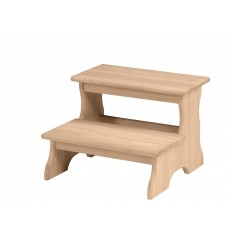 [19 Inch] Two Step Stool (unfinished)