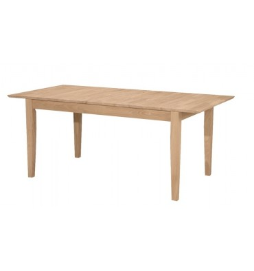 [72 Inch] Shaker Butterfly Extension Dining Table with Shaker Leg