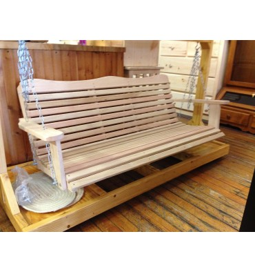 5 foot Cypress Porch Swing