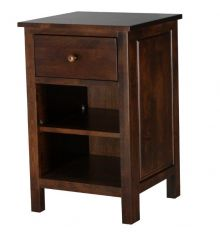 [19 Inch] Heritage 1 Drawer Nightstand