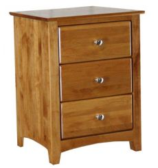 [23 Inch] Shaker 3 Drawer Nightstand (finished for idea purposes)