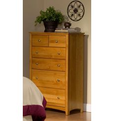 [33 Inch] Alder Shaker 6 Drawer BD Chest