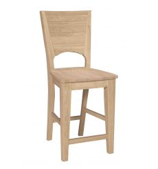 Canyon Full Counter Stool (pecan)