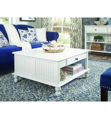 [34 Inch] Cottage Square Coffee Table