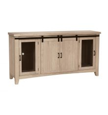 TV-67AB Hannah Barn Door TV Console