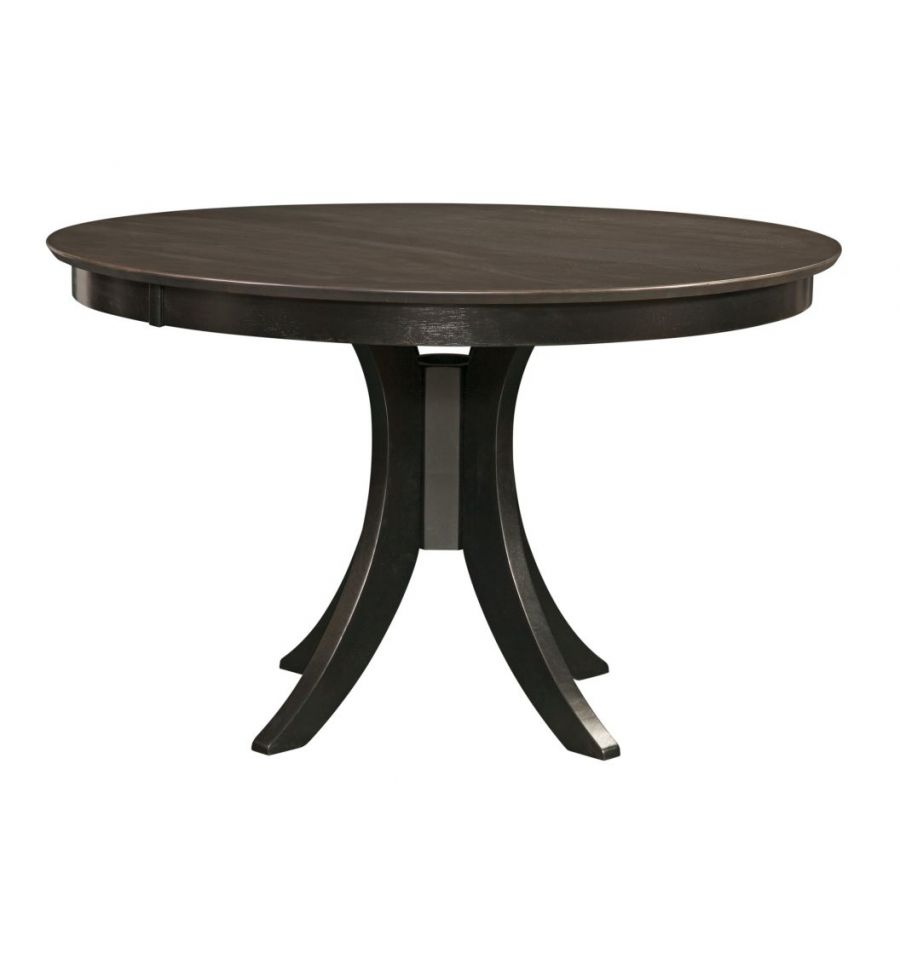 48 Inch Sienna Round Dining Table With Pedestal Base
