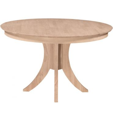48 Inch Siena Round Dining Table With, 48 Inch Round Kitchen Table
