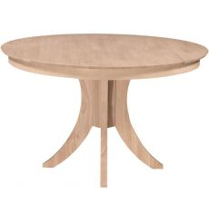 [48 Inch] Siena Round Dining Table with Pedestal Base