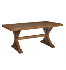 [68 Inch] Canyon Trestle Dining Table