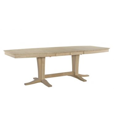 96 Inch Milano Dining Table Unfinished