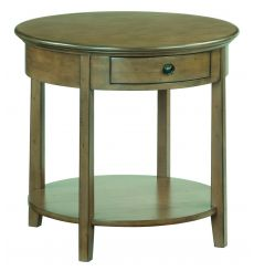 [26 Inch] Stonewood Round End Table