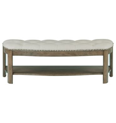 [52 Inch] Stonewood Upholstered Bench