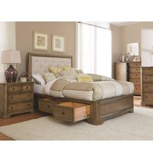 Stonewood Manor Upholstered Storage Beds