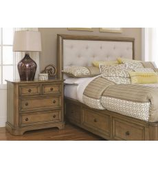 Stonewood Manor Upholstered Storage Bed
