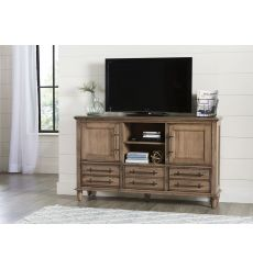 [62 Inch] Farmhouse Chic TV Console