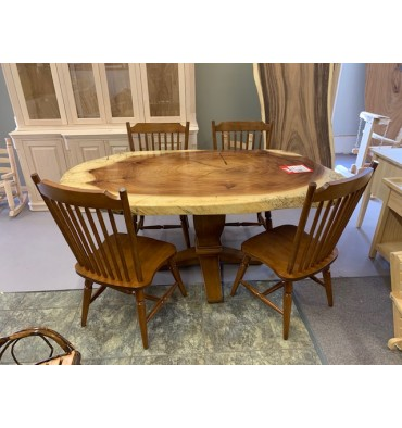 Crosscut Dining Set