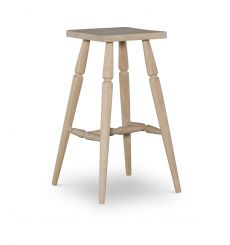 Square Top Bar Stool (unfinished)