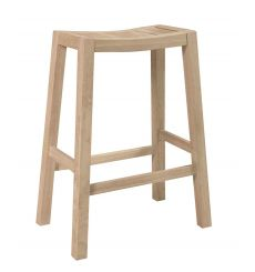 Ranch Bar Stool (unfinished)