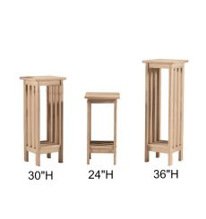 [30 Inch] Mission Plant Stand