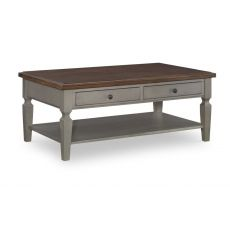 [48 Inch] Vista Coffee Table (hickory & stone)