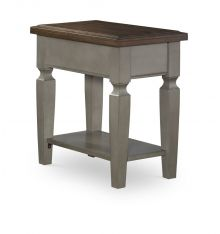 [14 Inch] Vista Side Table (hickory & stone)