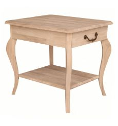[28 Inch] Cambria End Table (unfinished)