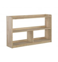 [48 Inch] Abby Divided Bookcase (unfinished)