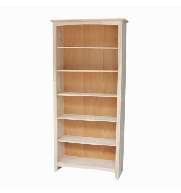 [72 Inch] Shaker Bookcases