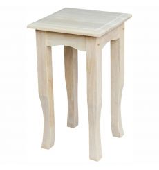[21 Inch] Tea Table (unfinished)