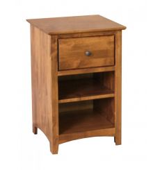 [19 Inch] Shaker 1 Drawer Nightstand (finished for idea purposes)