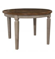 [44 Inch] Vista Round Dining Table (hickory & stone)