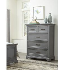 [42 Inch] Summit 5 Drawer Chest (mineral gray)