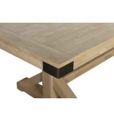 [84 Inch] Farmhouse Chic Extension Dining Table